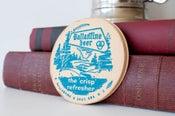 Image of Vintage Ballentine beer coasters