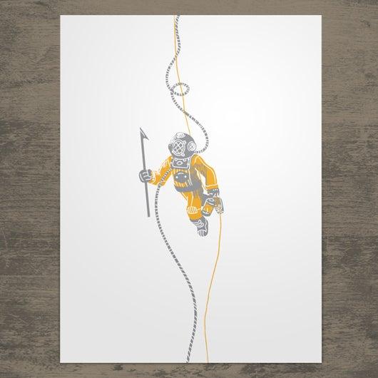 Deep Sea Diver Poster