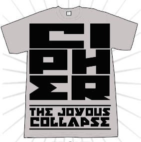 Image of The Joyous Collapse 2010 Tour shirt - Limited Edition