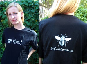 Image of Got Hives? Tee (M or L)