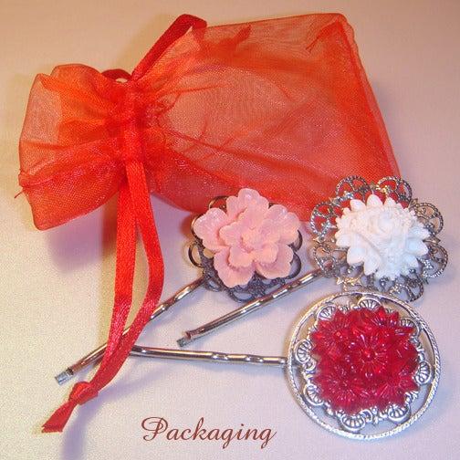 Image of Blooming Buds Hair Pin Set