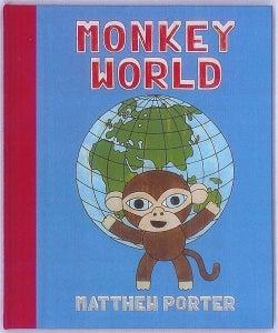 Image of Monkey World children's book by Matthew Porter