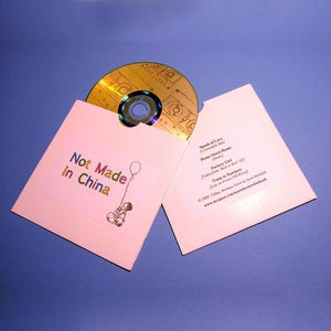 Image of Not Made In China Sampler/Promo CD [SOLD OUT]