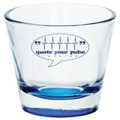 Image of Quote Your Pulse Records Shot Glass