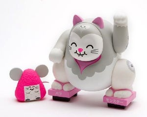 Image of Buff Monster Miao & Mousubi Vinyl Figure Set