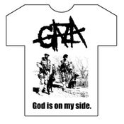 Image of God Is On My Side White T-shirt