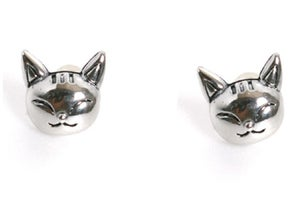 Image of Smile Cat Earrings