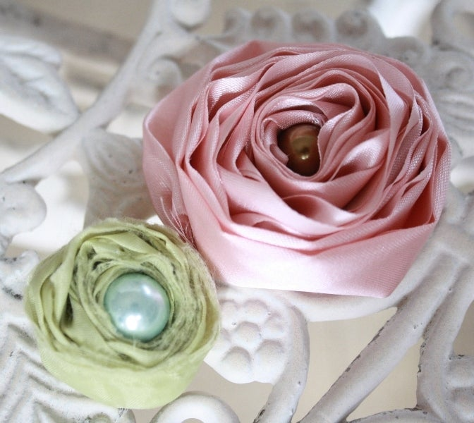 Jewel Box Ballerina Fabric and Feather Tutorials — eBook: How to Make Fabric Flowers ...