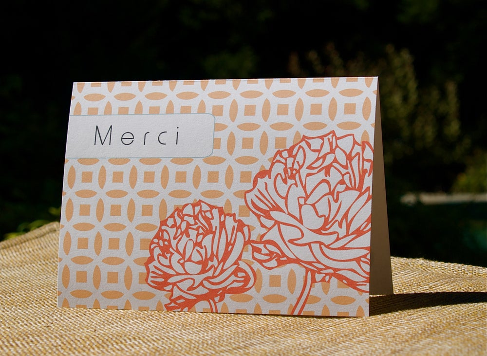 Image of Merci Note Set