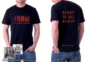 """Image of """"ready to kill again"""" red t-shirt"""