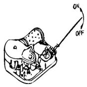 Image of On/Off Mechanism for Music Box - Spring-loaded Stop