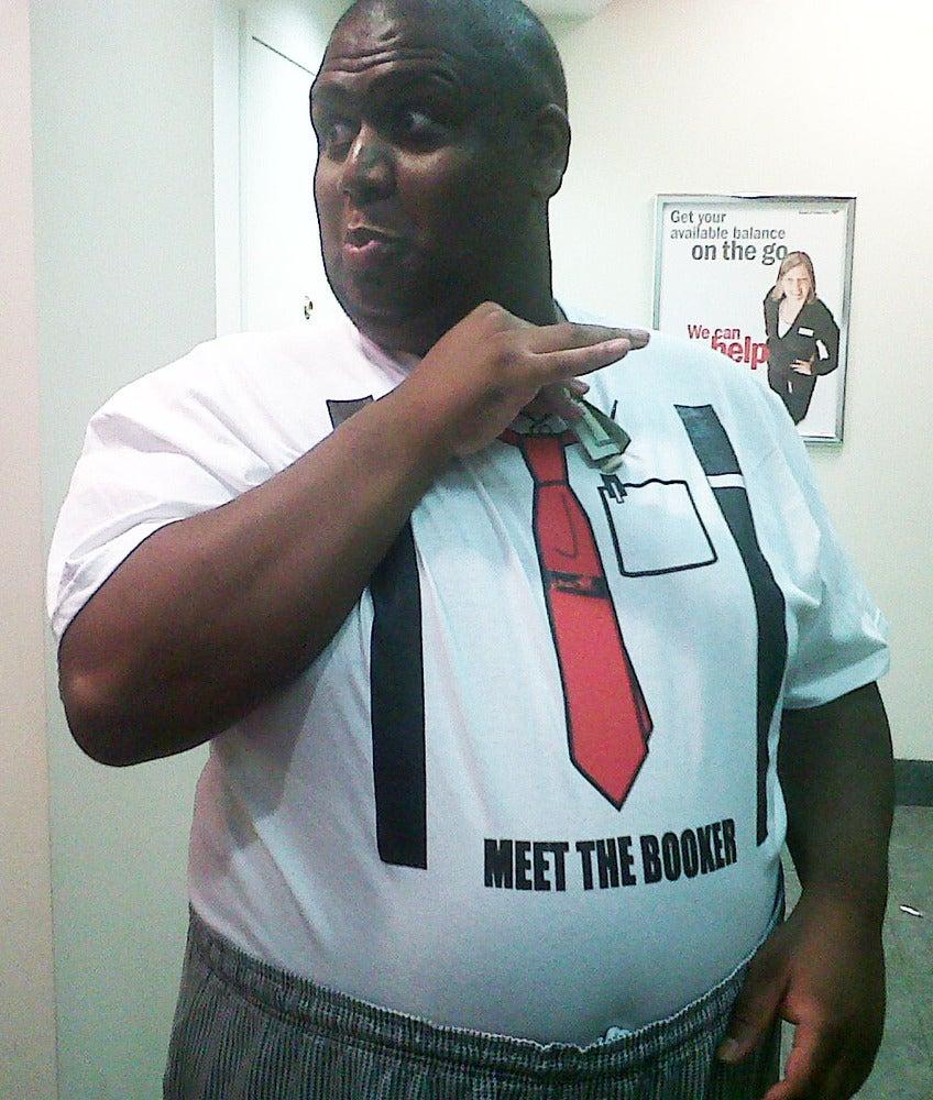 Image of MEET THE BOOKER T-SHIRT!