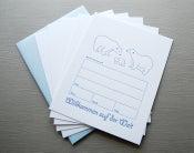 Image of Willkommen auf der Welt! Die Eisbärenfamilie lässt grüßen, Letterpress-Set