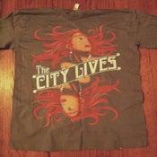 "Image of ""Flapper Girl Shirt"" (Light Grey)"