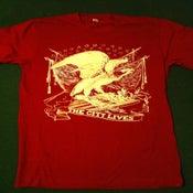 "Image of ""Majestic Eagle Tee"" (Maroon Tee)"