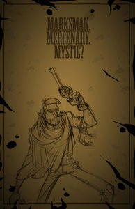 Image of The Adventures of Rusty Blanketts and Mustache Carruthers Promo Poster (Rusty)