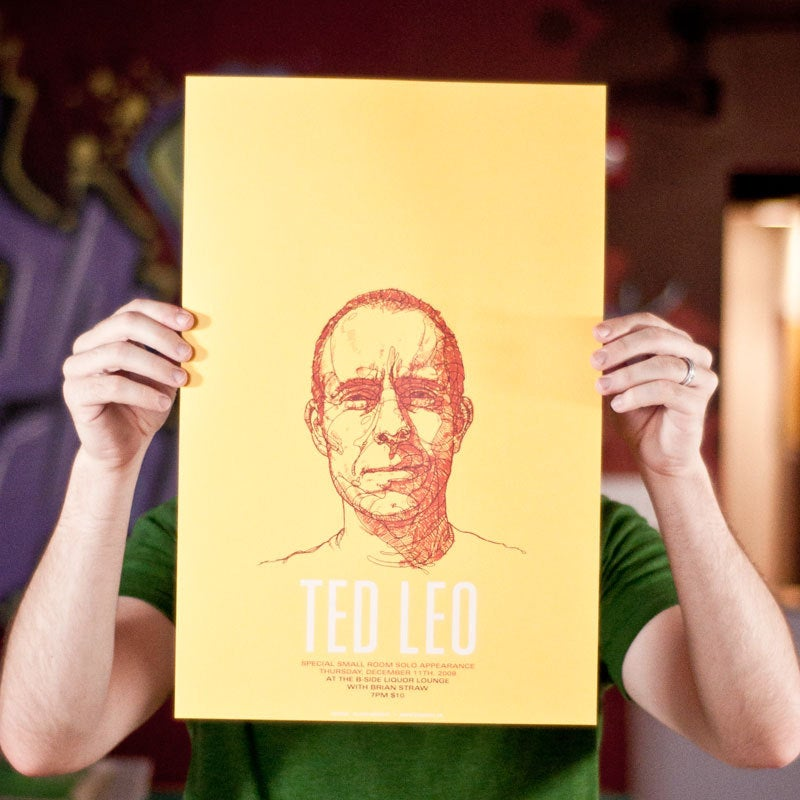 Image of Ted Leo poster