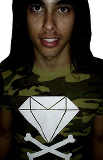 Image of Diamond & Crossbones (Camo)