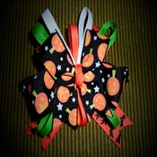 Image of Frightfully cute Jack-o-lantern Boutique Bow