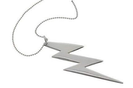 Image of LIGHTENING BOLT PENDANT NECKLACE