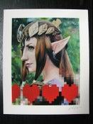 Image of I <3 Zelda giclée print