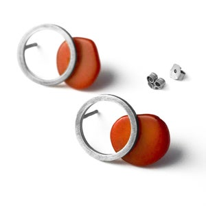 Image of Boucles d'oreilles Eclipse
