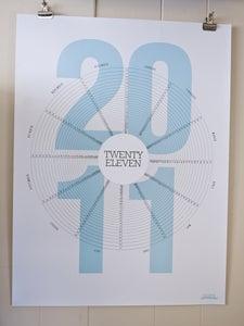 Image of twenty eleven calendar