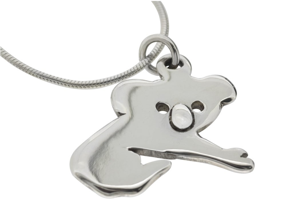 Image of Aussie Koala 925 Pendant Necklace