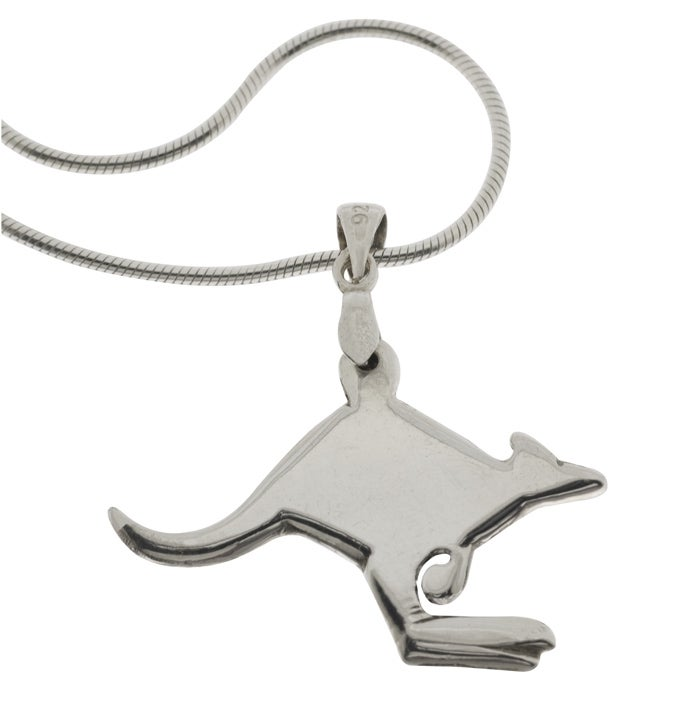 Image of Aussie Kangaroo Pendant Necklace
