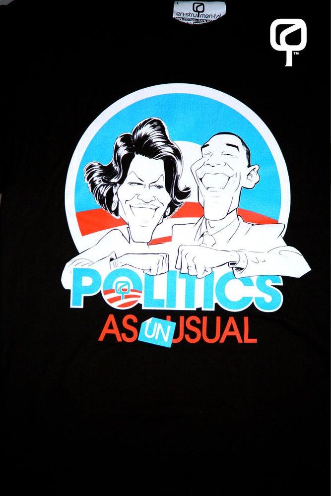Image of POLITICS AS UNUSUAL