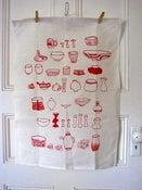 Image of Tea Towel Potter's Daugher 100% Linen