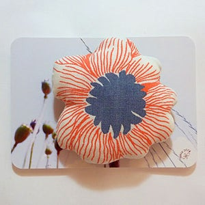 Image of Broche 04 - rouge