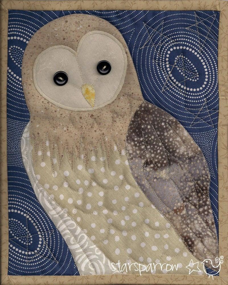 Barn Owl Quilt, Nocturne