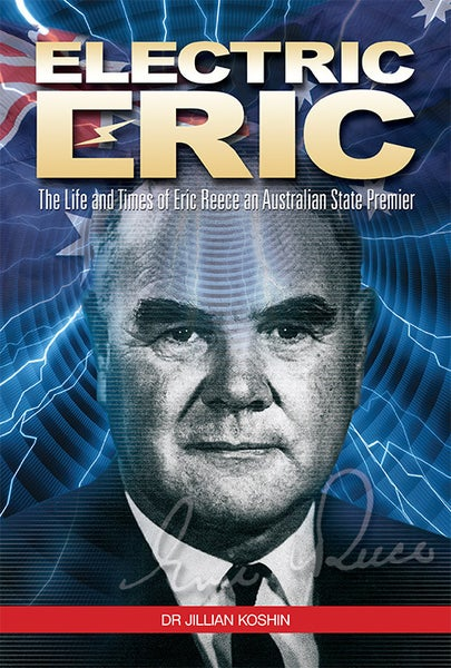 Image of Limited Edition Leather Bound - Electric Eric: The Life and Times of Eric Reece