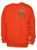 Image of Orange Well-Spotted Sweatshirt - Limited Edition
