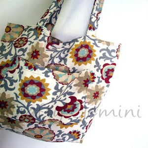 Image of Must Have Tote Bag Pattern & Video Tutorial- PDF