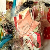 "Image of ""Starry Arty"" embellissements faits main / handmade embellishements"