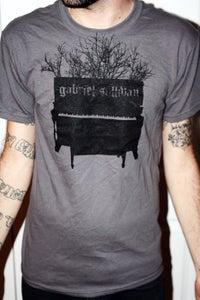 Image of Charcoal Piano Shirt