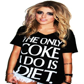 Image of The Only Coke I Do Is Diet (Oversized T-Shirt)