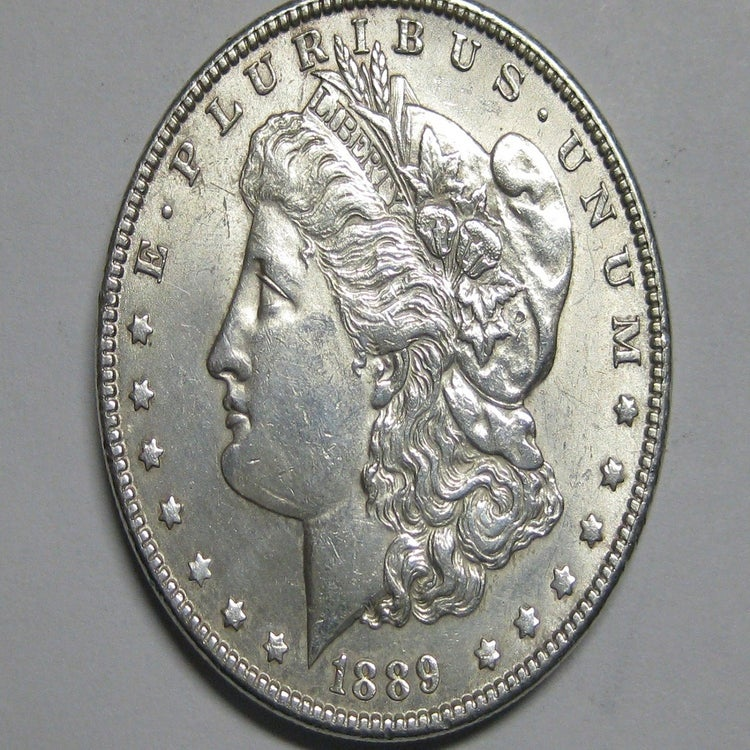 1889 Morgan Silver Dollar Value