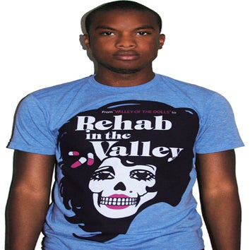 Image of Rehab In The Valley (Heather Blue)