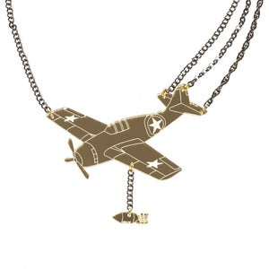 Image of Grumman Wildcat Necklace