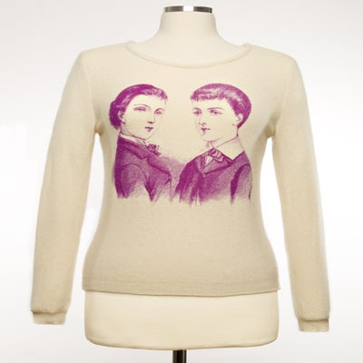 "Image of ""Dandies"" Womens Cashmere Sweater - Cream"