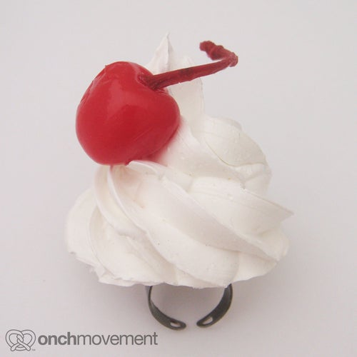 Image of Whip Cream Ring with a Cherry on Top!