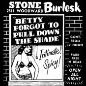 Image of Betty Forgot To Pull Down The Shade [Poster]