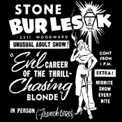 Image of Evil Career of the Thrill-Chasing Blonde [Poster]