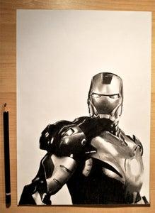 Image of Iron Man Portrait