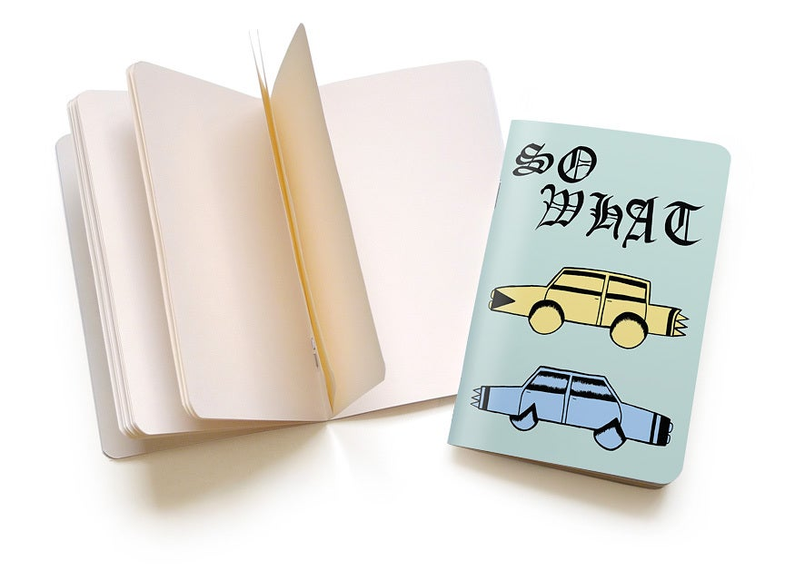 "Image of Jesse Spears ""Cars"" Pocket Notebook"