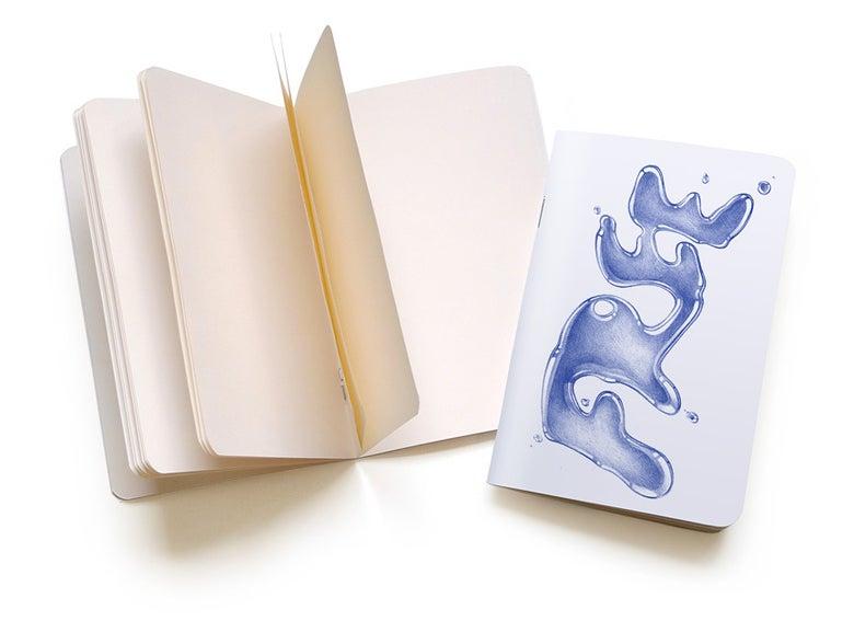 "Image of Jonathan Zawada ""Free Spit, Dumb Rocks"" Pocket Notebook"