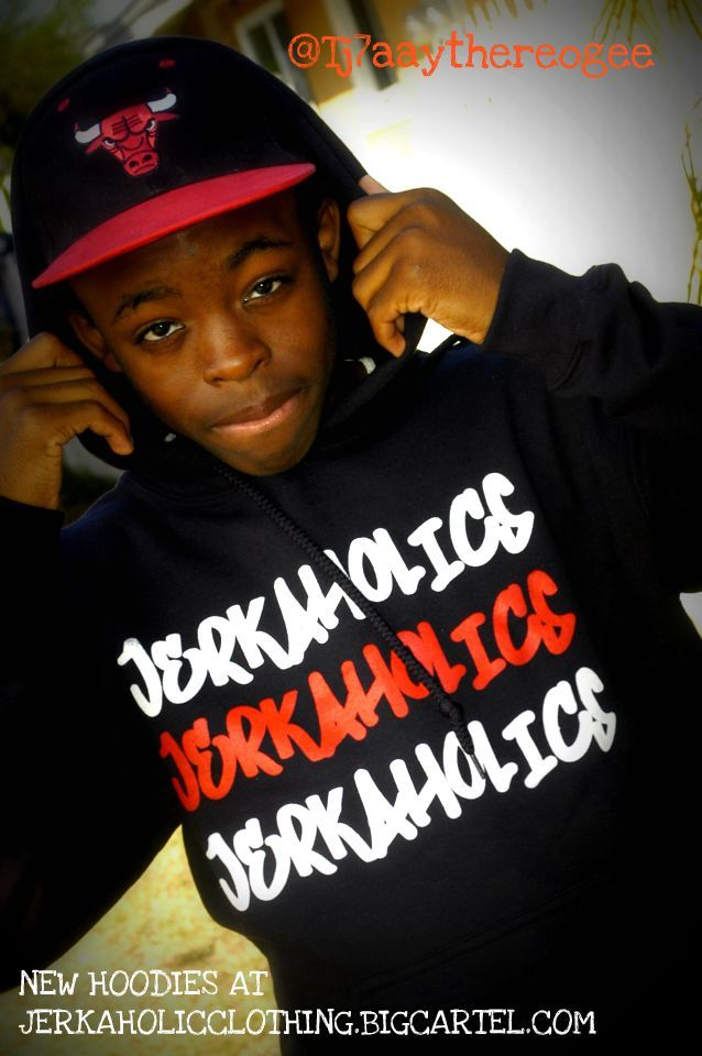 Image of 3xJerkaholic Hoodies In Black  EXCLUSIVE we only made 4 so dont sleep